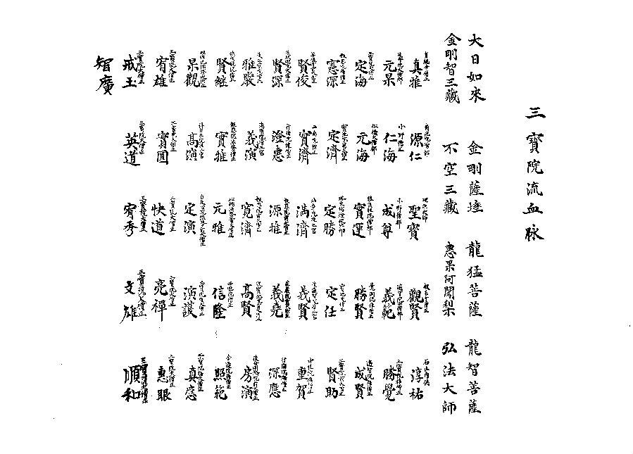 《仁增》杂志采访智广阿阇梨访谈录