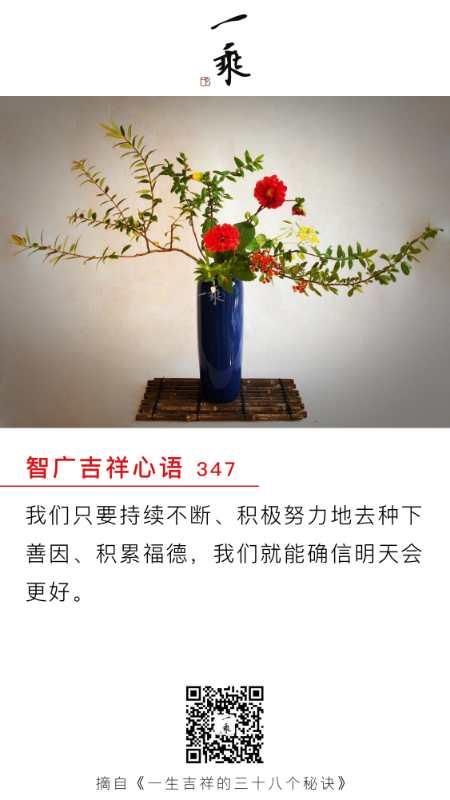 智广吉祥心语347