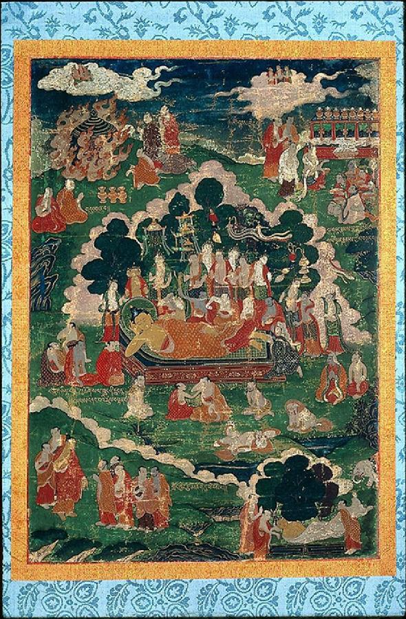 佛弟子对佛陀的永恒怀念   佛涅槃纪念日特别推送《佛遗教经》